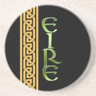 Black Irish Sandstone Coaster