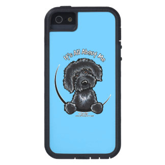 Black Labradoodle Its All About Me Off-Leash Art™ iPhone 5 Cover