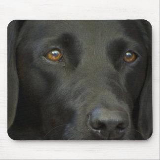 Black Labrador Dog Mouse Pad