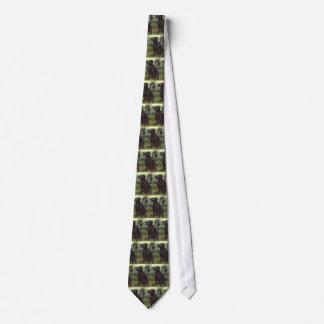 Black Labrador Retriever Neck Tie