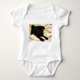 Black Pug Puppy T-shirts