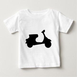 black racing scooter tshirt
