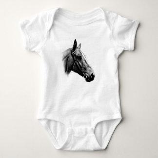 Black & White Horse T Shirts