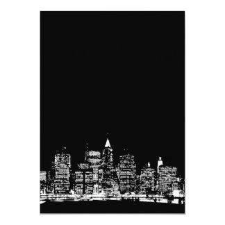 Black & White New York Invitation