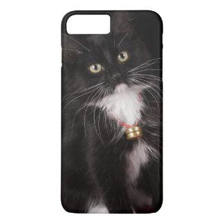 Black & white short-haired kitten,2 1/2 months iPhone 7 plus case