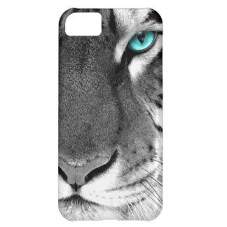 Black White Tiger iPhone 5C Case