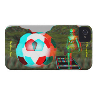 BlackBerry Bold 3D Soccer Girl Case