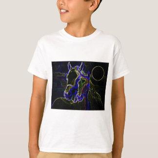 Blacklight Horses Shirt
