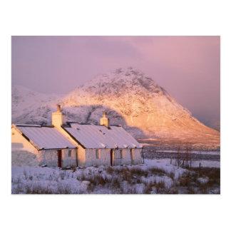 Blackrock Cottage, Glencoe, Highlands, Scotland 2 Postcard