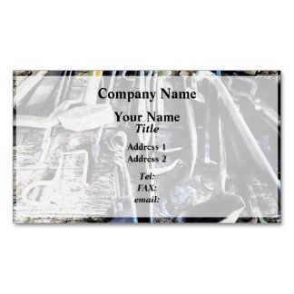 Blacksmith Tools Magnetic Business Cards