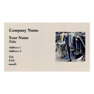 Blacksmith Tools Pack Of Standard Business Cards