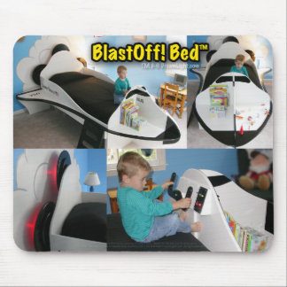 BlastOff! Bed™ Mouse Pad