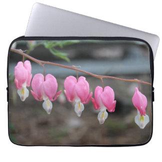 Bleeding Heart Flower Laptop Case Laptop Sleeve
