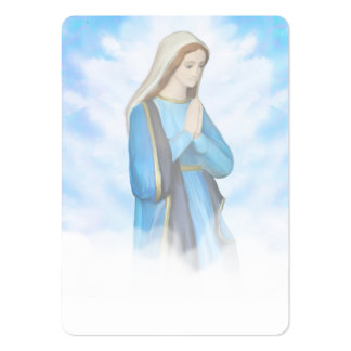 Blessed Virgin Mary Business Card