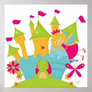 Blond Fairy Princess Poster