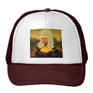 Blonde Mona Lisa Cap