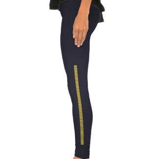 Bloodstripes yellow legging tights