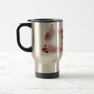 bloody hand cub stainless steel travel mug