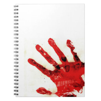 Bloody Hand Notebook