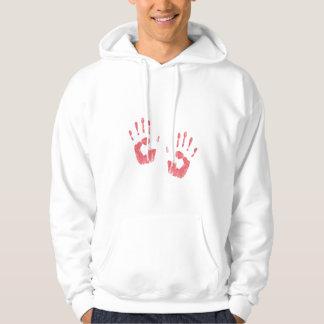 Bloody Hands Hooded Sweatshirt