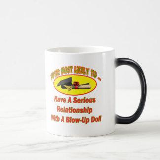Blow-Up Doll Relationship Morphing Mug