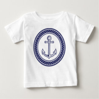 Blue Anchor and Rope Tees