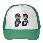Blue and Red Lincoln Cap