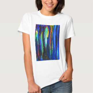 Blue Bars ( abstract expressionism painting) T Shirts