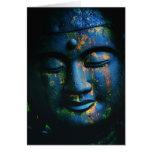 Blue Buddha Om Peace Note Card