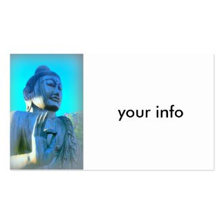blue buddha pack of standard business cards