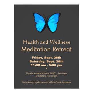 Blue Butterfly Women's Health and Wellness Flyer