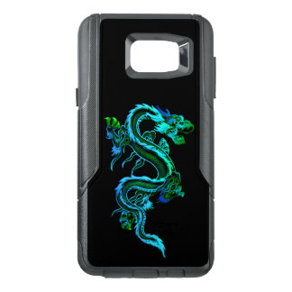 Blue Chinese Dragon Otterbox Samsung Note 5 Case