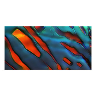 Blue Crystals, Copper Sulfate Photo Card