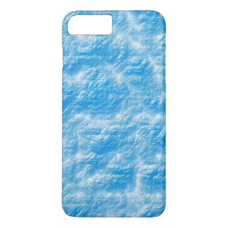 blue effects iPhone 7 plus case