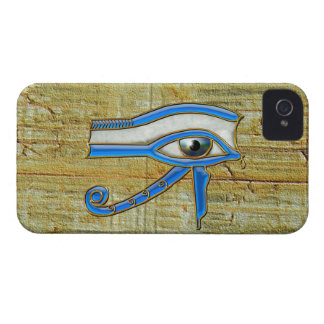 Blue Egyptian Eye of Horus Blackberry Bold Case