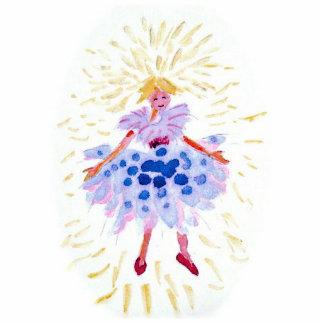 Blue Fairy Photo Sculpture Decoration