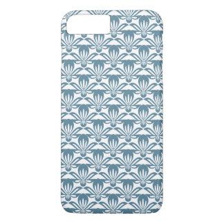 Blue fleur de lys pattern iPhone 7 plus case
