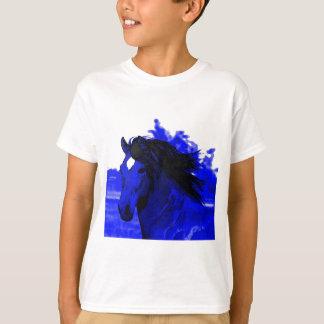 Blue Horse Tee Shirts
