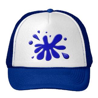 Blue Paint Splodge Cap