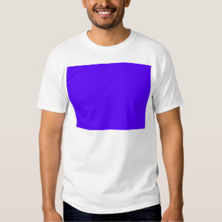 Blue-Purple Color Only Custom Design Products Tee Shirt