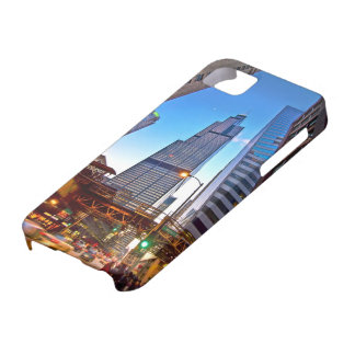 Blue skys and big buildings case for the iPhone 5