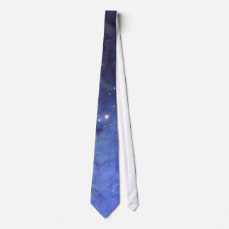 Blue Space Tie