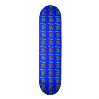 blue tranquility skateboard