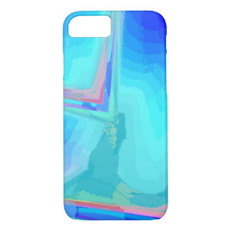 Blue veining iPhone 7 cover