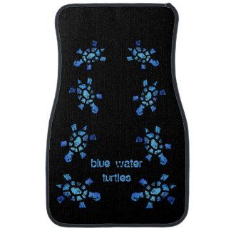 Blue Water Turtle Floor Mat