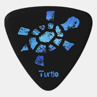 Blue Water Turtle Plectrum
