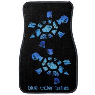 Blue Water Turtles Car Mat