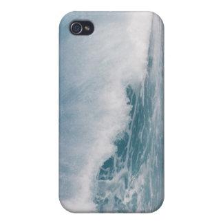 Blue wave crashing, Maui, Hawaii, USA 3 iPhone 4 Case