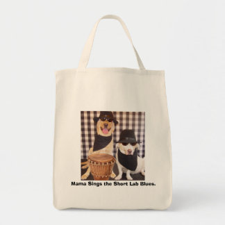 Blues Brothers Labs Grocery Tote Bag
