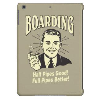Boarding:Half Pipe's Good Full Better iPad Air Cases